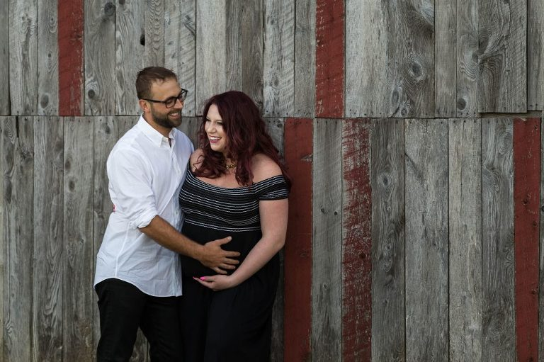 Maternity couple session