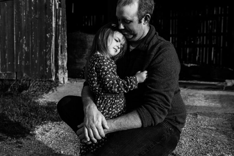 Daddy and daughter connection